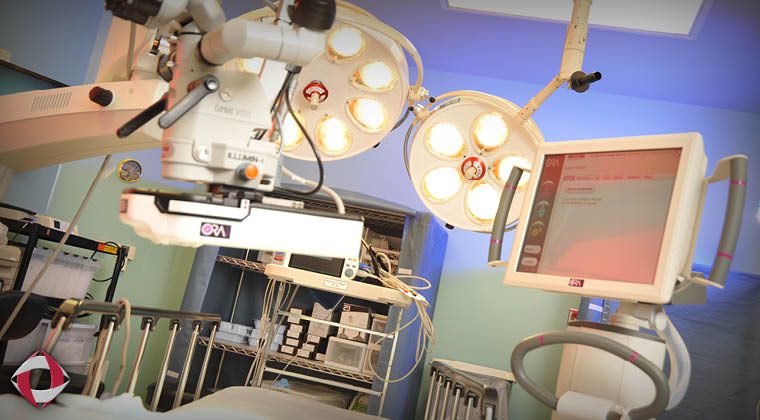 On-site surgery center at Weisgarber Road in Knoxville is dedicated to eye surgery.